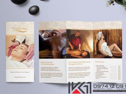 Mau Brochure Spa Beauty