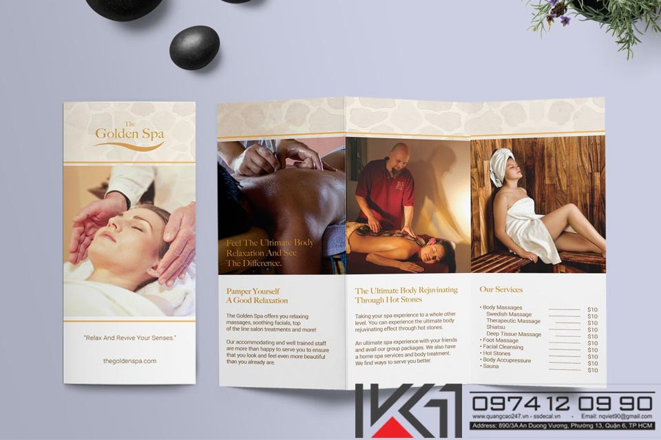Mau Brochure Spa Beauty