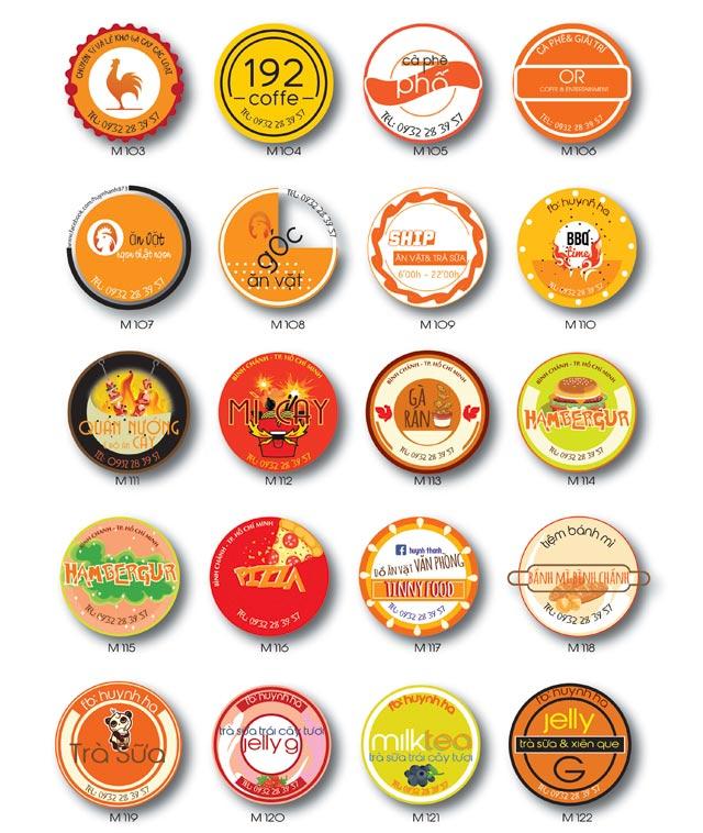 In An Logo Sticker Tem Nhan Mac
