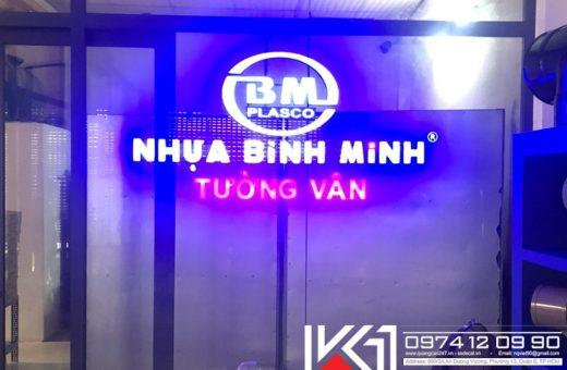 Gia Cong Chu Noi Co Den Led Trong Nha